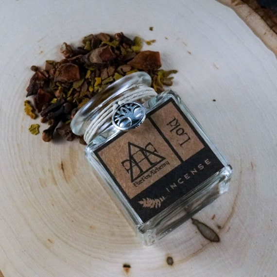 Loki Loose Incense Mix, Norse God of Mischief and Fire