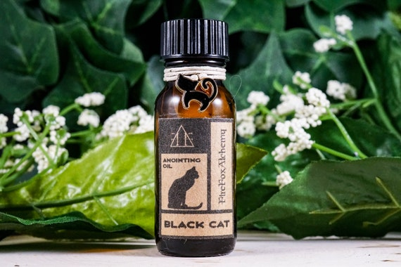 Black Cat Oil: Hex Breaking, Gamblers Luck, Bad Luck Reversal