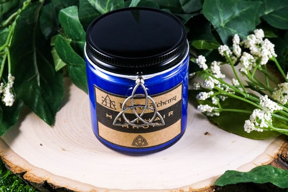 MHATHAIR MHAR Devotional Candle for Danu 4oz
