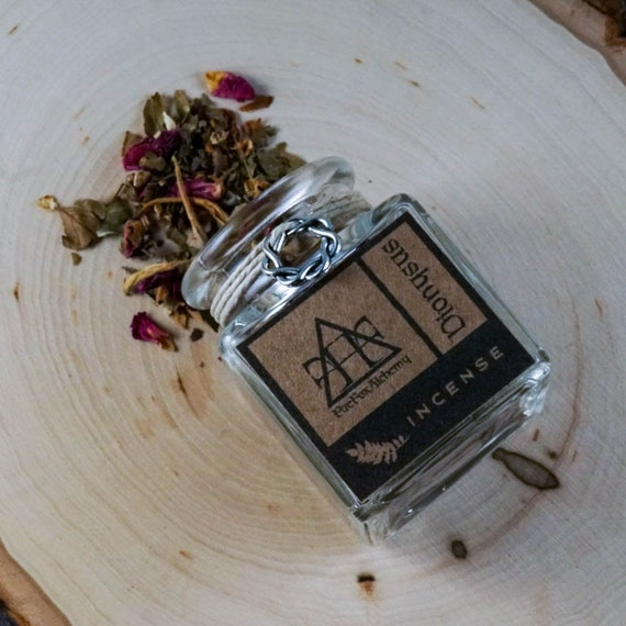 Dionysus Loose Incense Blend Greek God of The Vine, Fertility, and Ritual Frenzy, Ritual Incense