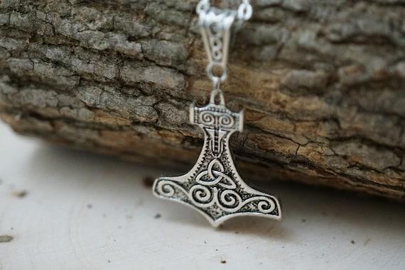 Mjolnir Norse Pagan Necklace