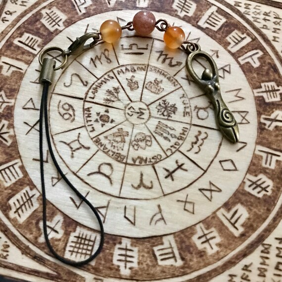 Sun Goddess Charm, Phone Charm, Bag Charm