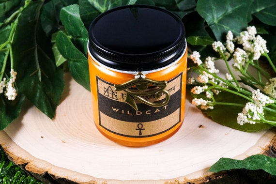 WILDCAT Devotional Candle for Bast 4oz