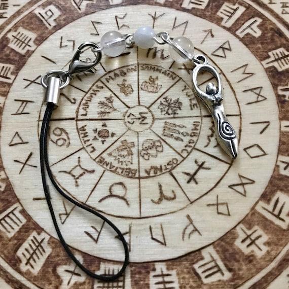 Moon Goddess Bag/Phone Charm