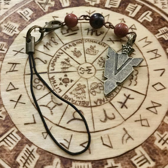 Sekhmet Devotional Bag/Purse Charm, Goddess of War