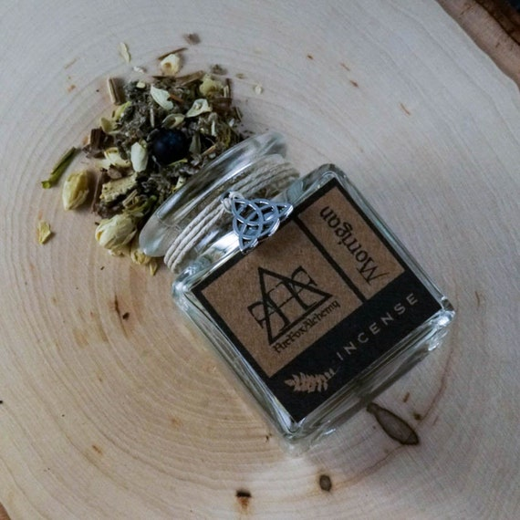 The Morrigan Loose Incense, Celtic Goddess of War, Fate, and Death