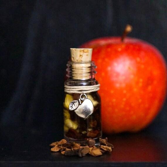 SPICED APPLE: Ritual Oil for Lammas Mabon, Samhain