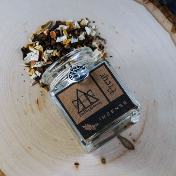 Freyr Loose Incense Blend. Norse God of Virility, Prosperity, and Fair Weather