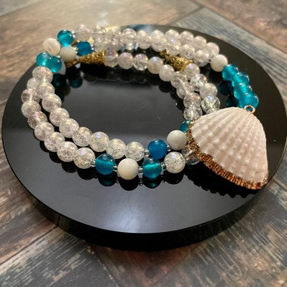 Iridescent Goddess : Prayer Beads for Aphrodite / OOAK Prayer Beads