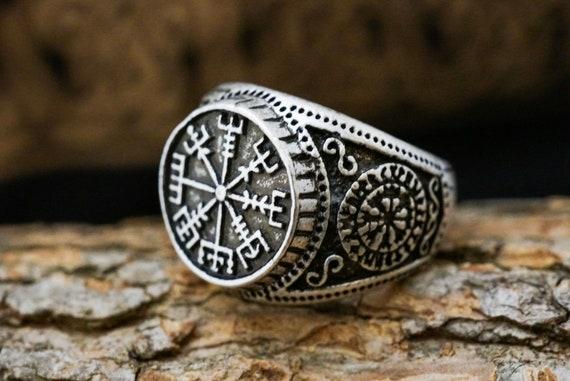 Men's Vegvisir Ring