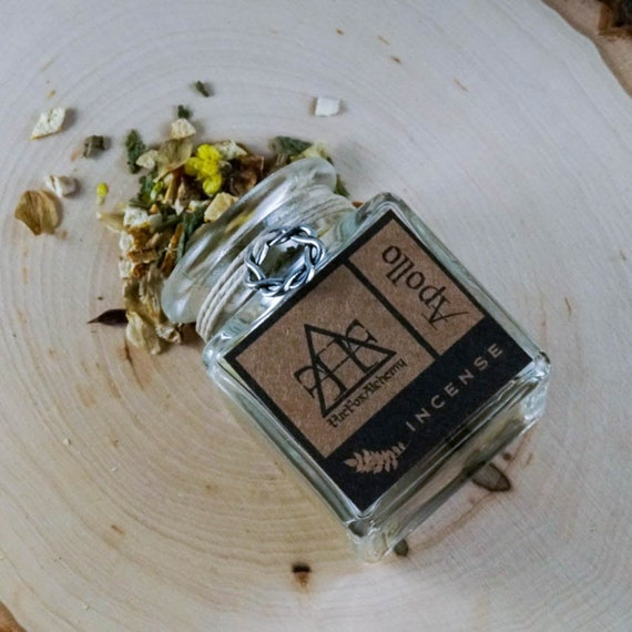 Apollo Loose Incense, Greek God of Light, Truth, and Music