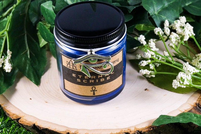 ETERNAL SCRIBE Devotional Candle for Thoth 4oz
