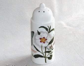 Vintage Portmeirion Botanic Garden Sugar Shaker sifter Spanish Gum Cistus Deisgn c.1970s
