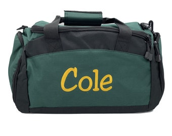 online store 60704 416cb Personalized Monogrammed Duffel Bag Custom Gym Bag with Embroidered Name,  Initials and or Number