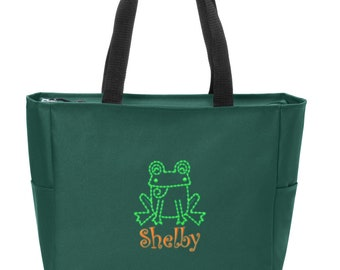 d498e45229 Personalized Frog Shoulder Bag with FREE Personalization   FREE SHIPPING  BG410