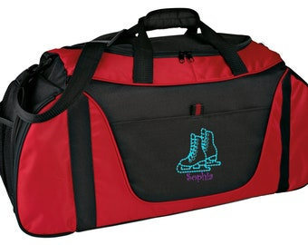 Personalized Skate Medium Two Tone Duffel Bag