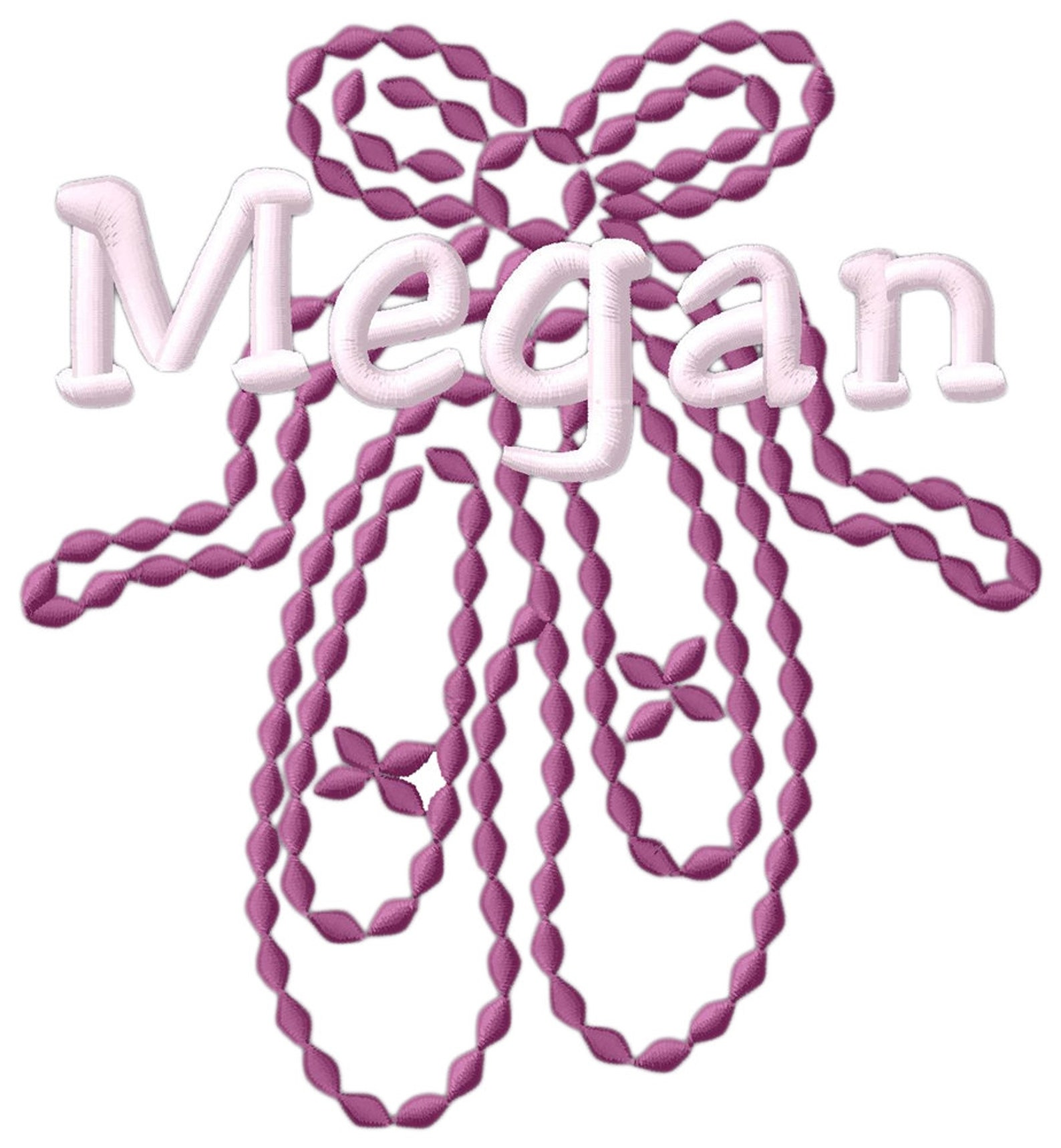 personalized ballet shoes zip-it cinch pack with free personalization & free shipping bg616