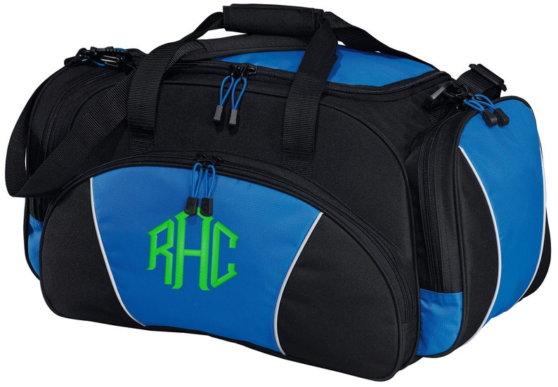 b1e19acc1e1c Personalized Monogram/Name Metro Gym Sport Duffel Bag with FREE  Personalization & FREE SHIPPING BG91