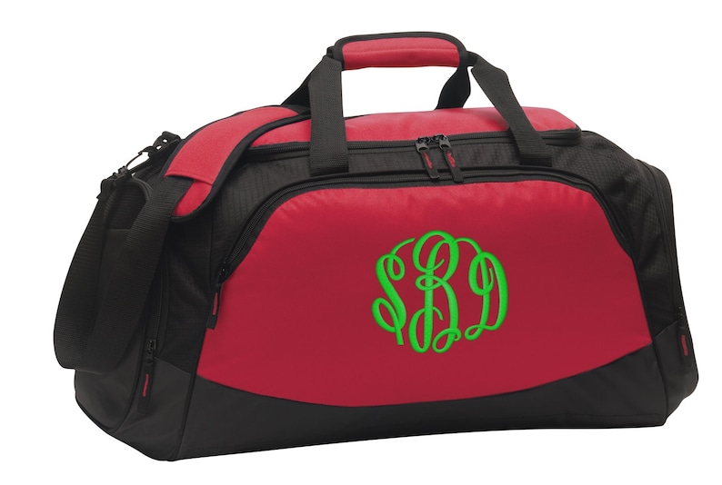 f8109c6669a3 Personalized Monogram/Name Medium Gym Bag with FREE Personalization & FREE  SHIPPING BG801