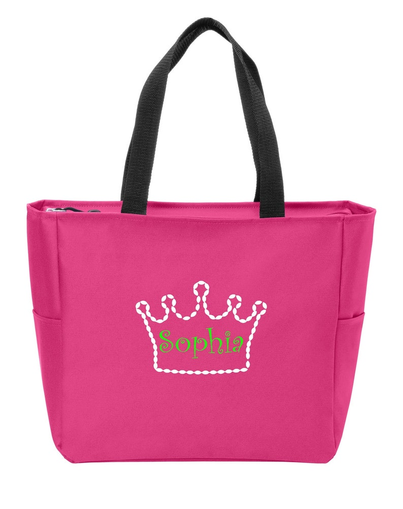 Personalized Crown Shoulder Bag with FREE Personalization /& FREE SHIPPING BG410