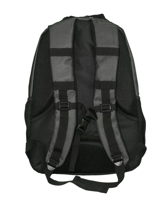 Dark Grey//Black//Shock Blue all about me company Polyester Xtreme Backpack Personalized Flip Flops Book Bag