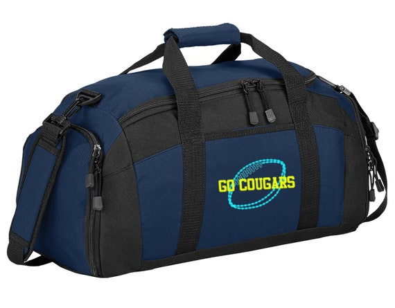 ebc65b6f46 Personalized Football Gym Sports Duffel Bag with FREE Personalization   FREE  SHIPPING BG970