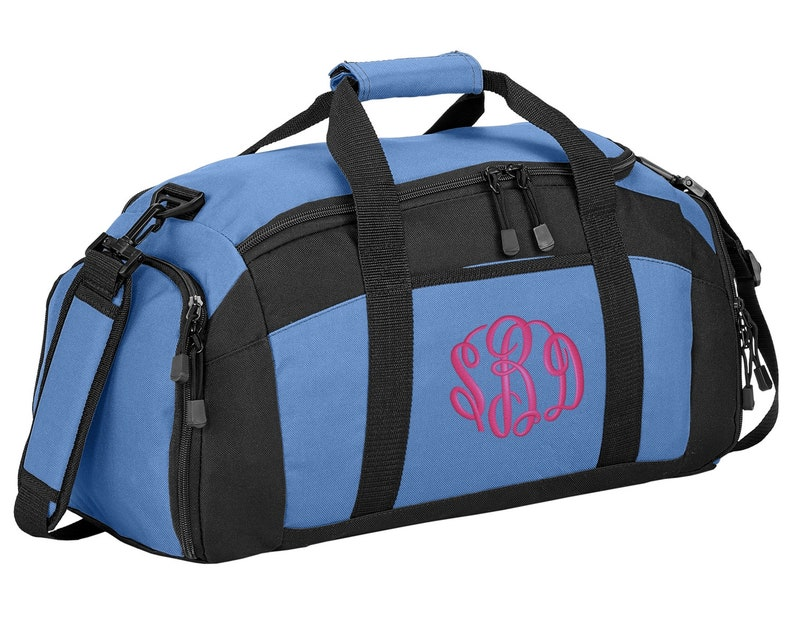 32a0a21965 Personalized Monogram Name Gym Duffel Bag with FREE