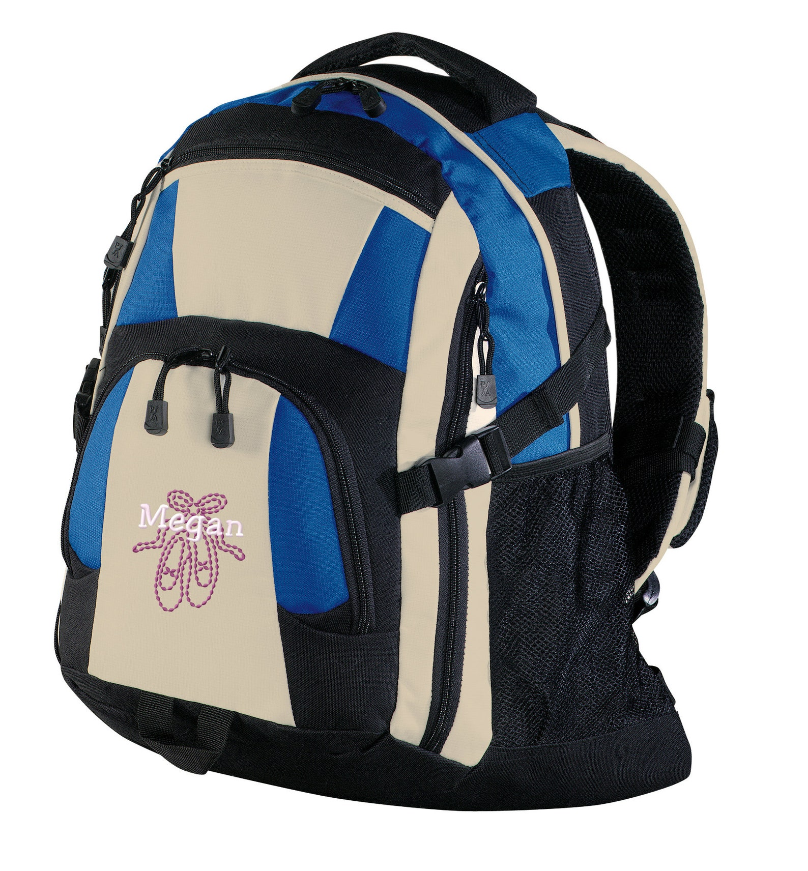 personalized ballet shoes urban backpack with free personalization & free shipping bg77