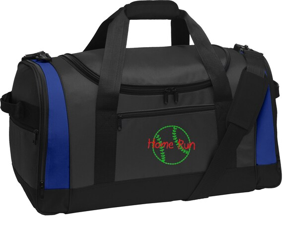 Personalized Baseball Voyager Sports Duffel Bag with FREE   Etsy 9bcc24806a