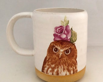 Talk to the Animals- Owl Mug