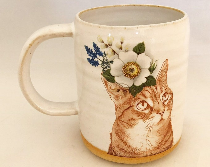 Featured listing image: Push Push's Darling Tabby Cat Mug