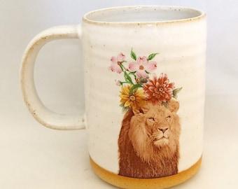 Talk to the Animals - Lion Mug