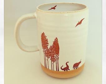 Jurrasic Cup- Dinosaur Mug
