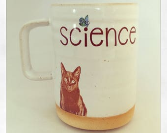 Science- Shalom the Cat 2018 Mug