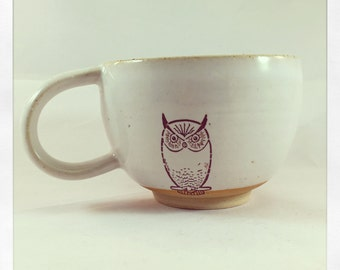 Al the Owl Latte Mug
