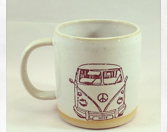 Boho Vw Van Mug