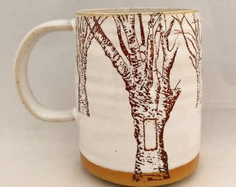 White Blaze Hiking Mug