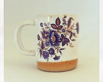 Blue & Gold Bohemian Esspresso Cup