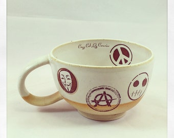 Punk Rock Cup- tea cup