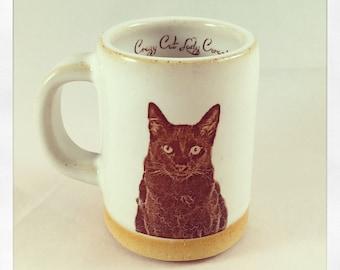 Shalom's Black Cat espresso cup