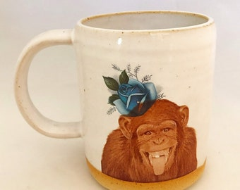 Talk to the Animals- Chimpanzees Mug
