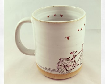 Ride On Bicycle mug