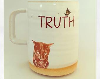 Truth - Bull Bull the Cat 2018 Mug