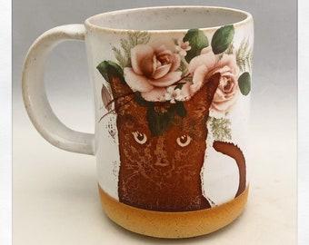 Cat Mugs & Teacups
