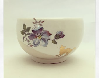 Crazy Cat Lady Espresso Cup with 24k Gold Cat