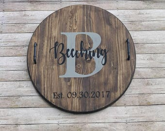 personalized serving tray etsy