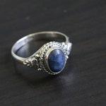 Lapis Lazuli Ring Oval,Lapis Ring, Silver ring,  US 6,  lapis stone ring, 925 Lapis Ring, Sterling Silver Ring