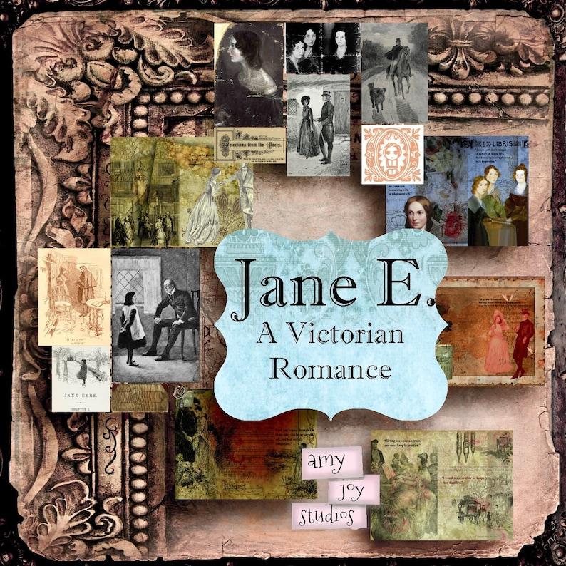 A Jane Eyre Journal  Junk Journal Printable  Junk Journal Ephemera  Junk Journal Kit  Digital Journal Kit  Printable Journal Pages Jane E