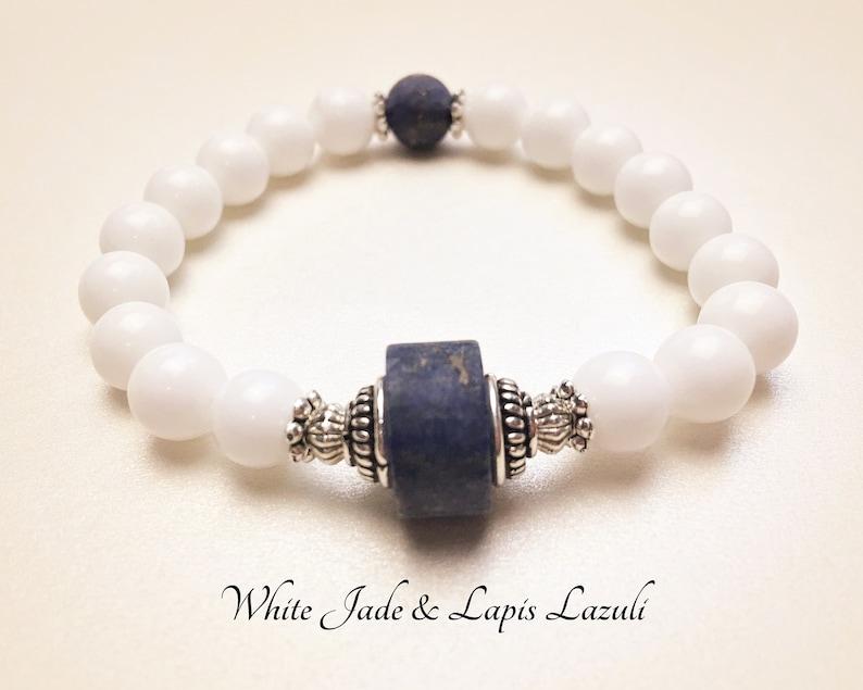1011b0003f2a Paz y Buena Suerte. Jade y Lapis Lazuli Piedras Preciosas.
