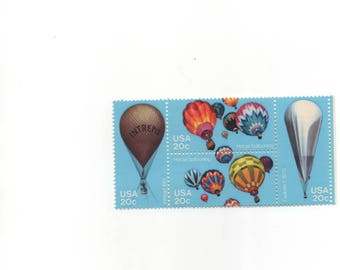 Balloons in Flight, United States Scotts 2032-2035
